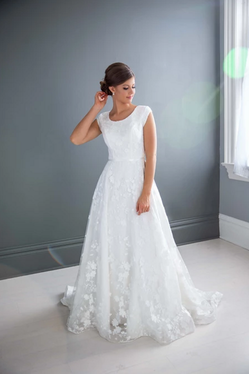 Nicole MC7210 MBC by Barbie A-Line Wedding Dress- To Order