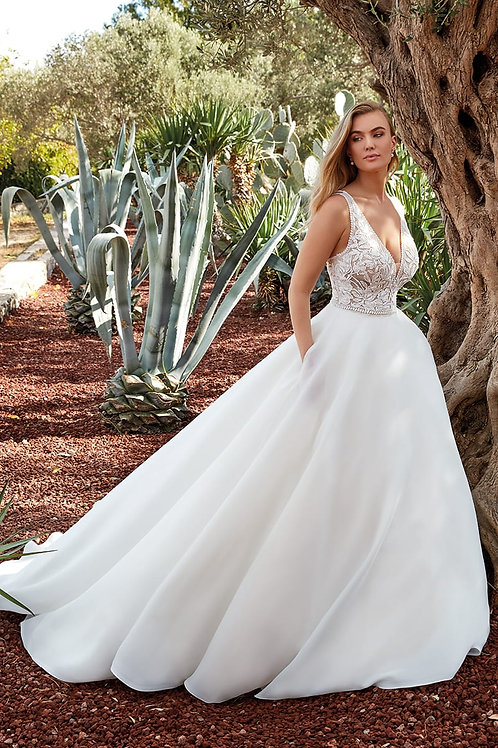 Chelsea EK1375 Eddy K Ballgown Wedding Dress- In Stock