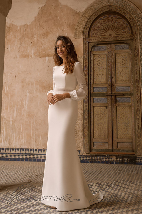 Rania Rima Lav Fit & Flare Wedding Dress- To Order