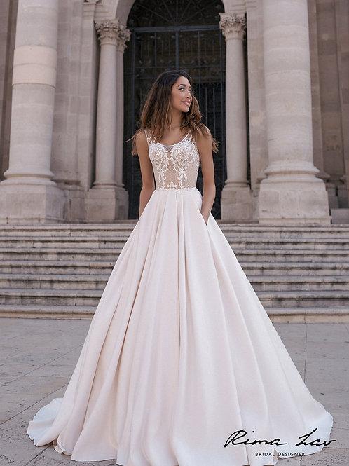 Kim Rima Lav A-Line Wedding Dress- To Order