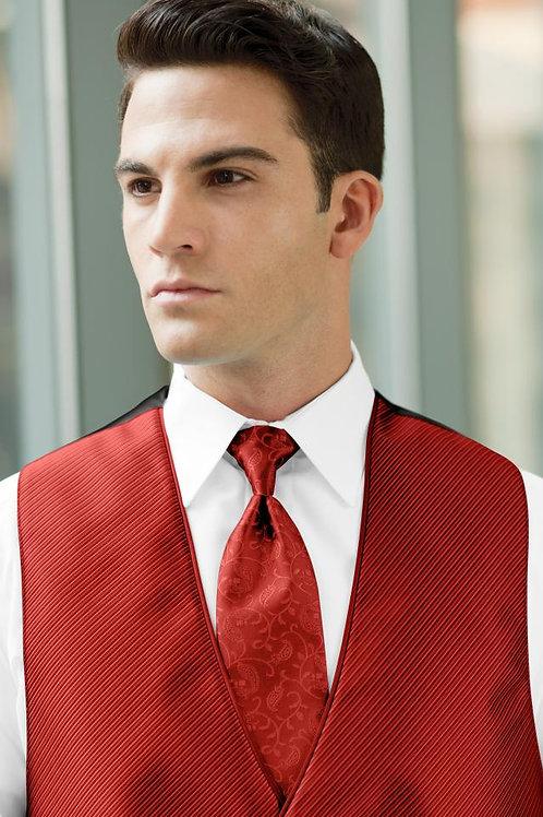 Vine Synergy Ferrari Red Windsor Tie