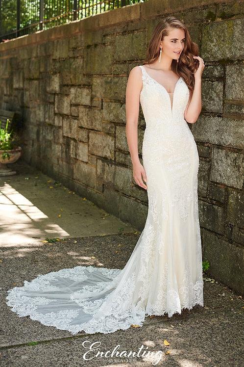 120180 Enchanting Sheath Wedding Dress- To Order