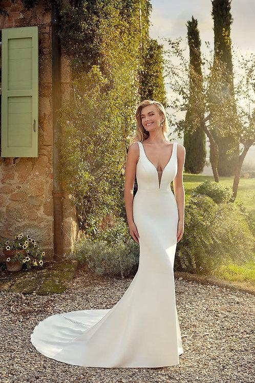 Paloma EK1359 Eddy K Fit & Flare Wedding Dress- To Order