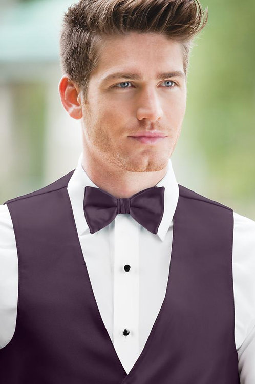 Expressions Plum Bow Tie