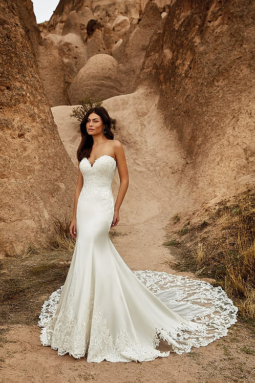 Stefania DR2036 Eddy K Mermaid Wedding Dress- To Order