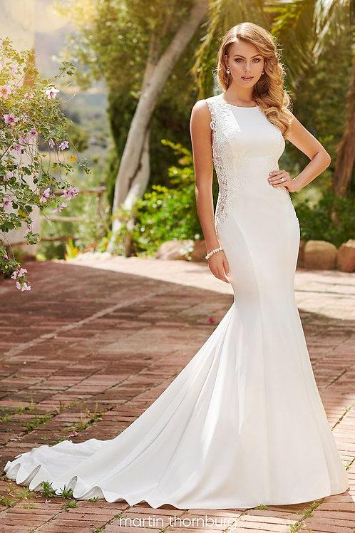 Odette 120250 Martin Thornburg Trumpet Wedding Dress- In Stock