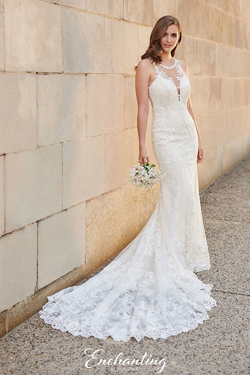 120164 Enchanting Fit & Flare Wedding Dress- To Order