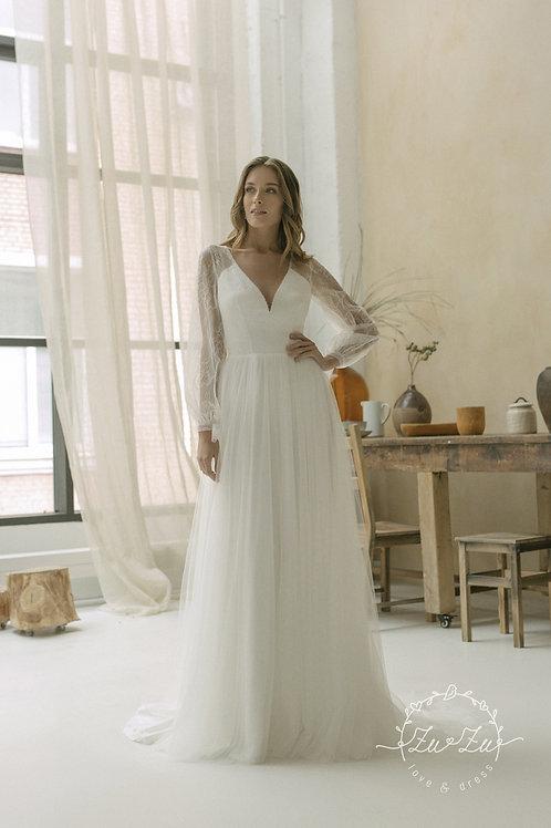 Louisa Zuzu A-Line Wedding Dress- To Order