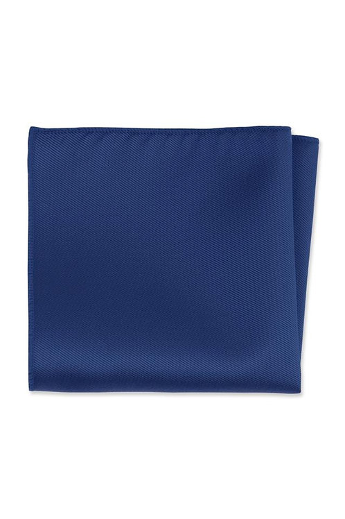 Herringbone Royal Blue Pocket Square
