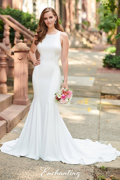 120176 Enchanting Fit & Flare Wedding Dress- To Order