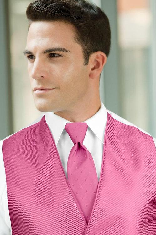 Diamond Synergy Fuchsia Windsor Tie