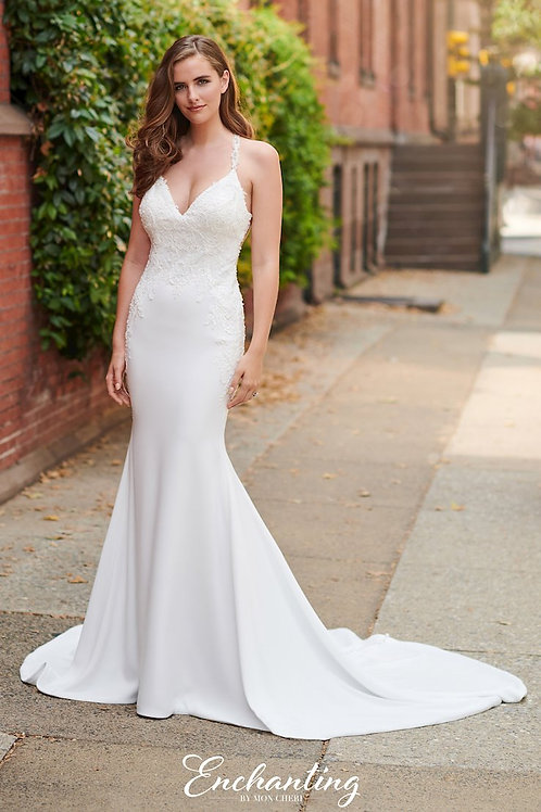 120168 Enchanting Fit & Flare Wedding Dress- To Order