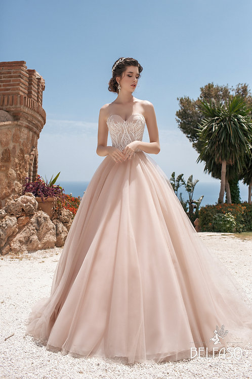 Lettice Belfaso Ballgown Wedding Dress- To Order