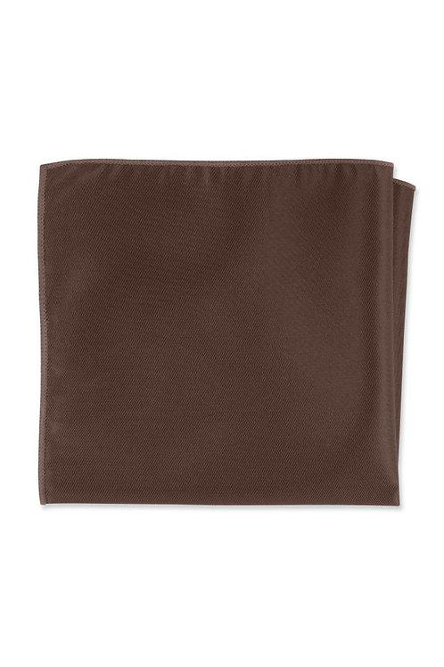 Solid Latte Pocket Square