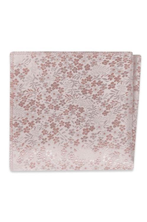 Brush Floral Pocket Square