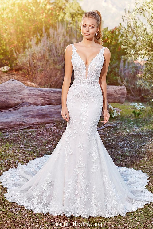 Alizia 220278 Martin Thornburg Mermaid Wedding Dress- To Order