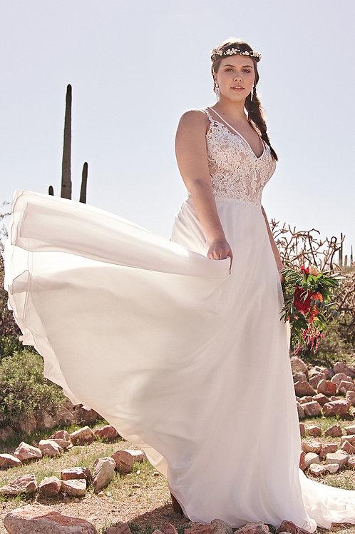 6515 Lillian West A-Line Wedding Dress- To Order