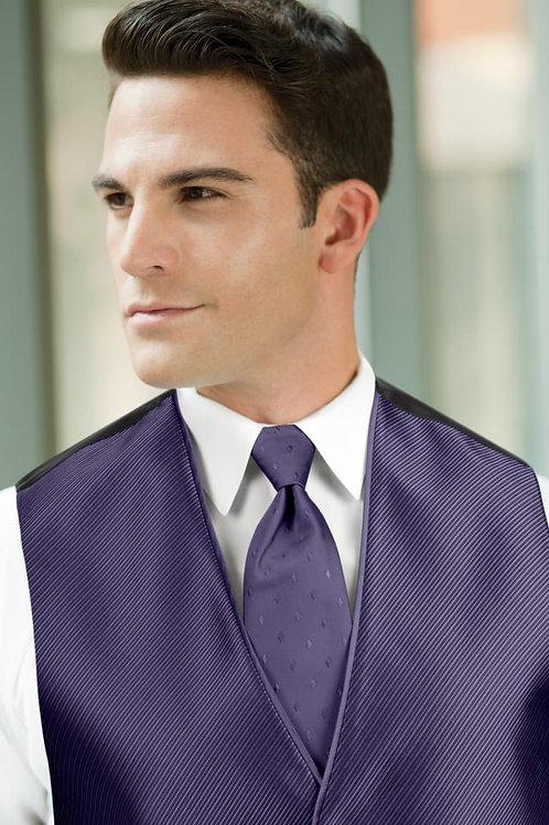 Diamond Synergy Purple Rain Windsor Tie