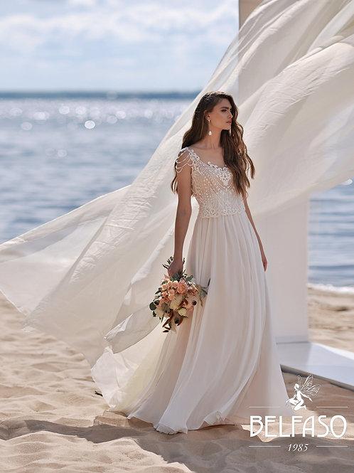 Olvera Belfaso Sheath Wedding Dress- To Order