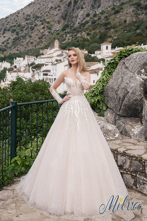 Teffy Milva A-Line Wedding Dress- To Order