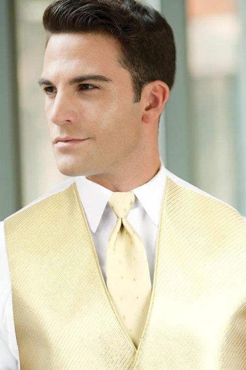 Diamond Synergy Gold Metallic Windsor Tie