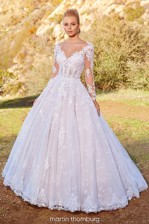 Brier 220281 Martin Thornburg Ballgown Wedding Dress- To Order
