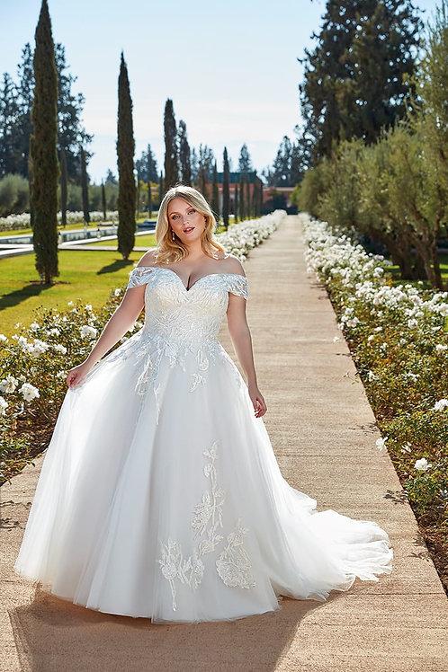 UR134 Eddy K A-Line Wedding Dress- To Order