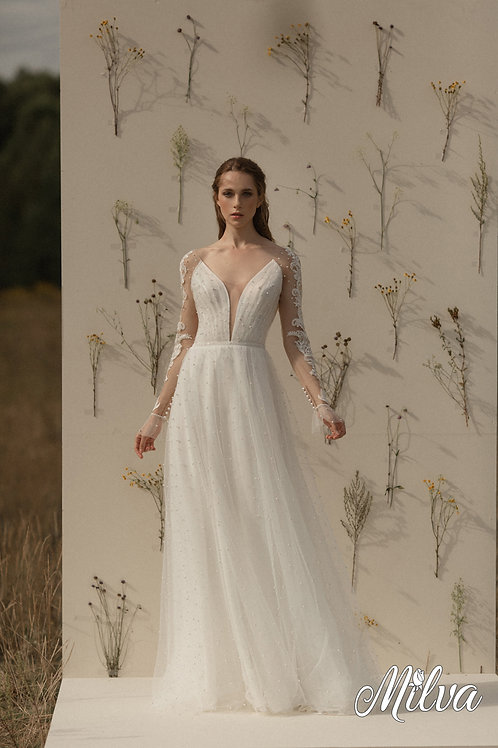 Fiona Milva Sheath Wedding Dress- To Order