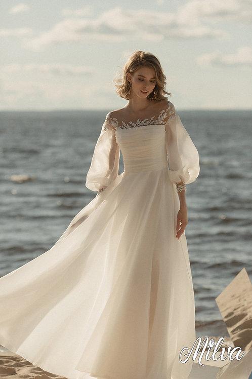 Reeder Milva A-Line Wedding Dress- To Order