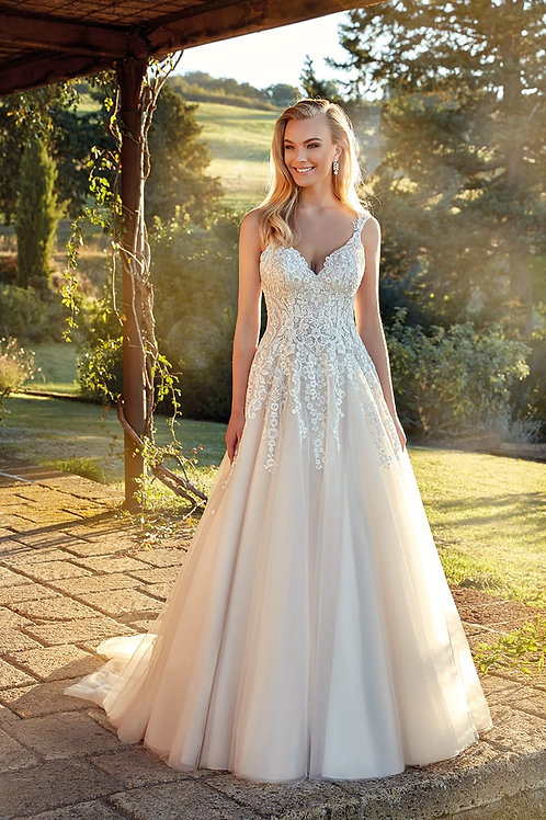 Rose EK1362 Eddy K A-Line Wedding Dress- To Order