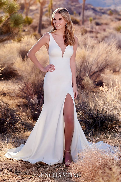 220119 Enchanting Fit & Flare Wedding Dress- In Stock
