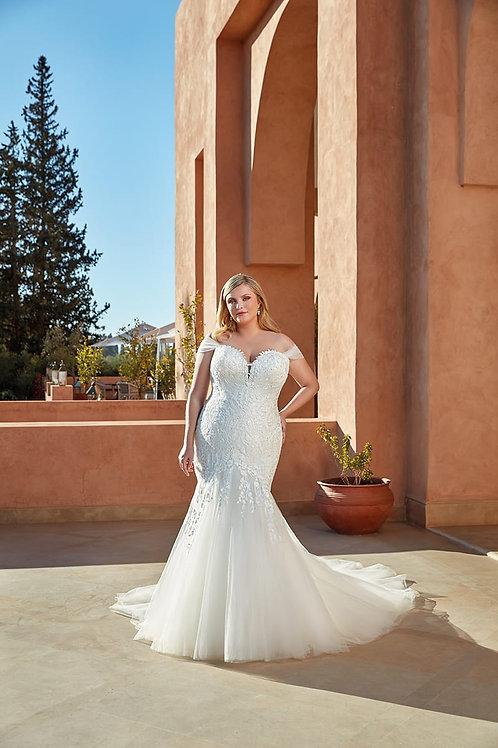 UR130 Eddy K Mermaid Wedding Dress- To Order