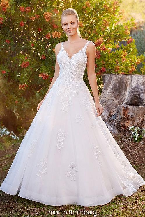 Cypress 220263 Martin Thornburg A-Line Wedding Dress- To Order