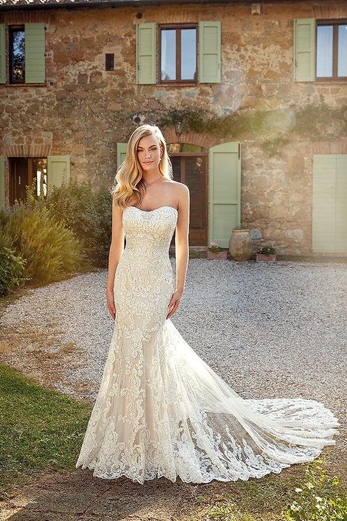 Tori EK1370 Eddy K Fit & Flare Wedding Dress- To Order