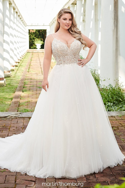 Payton 120231W Martin Thornburg Ballgown Wedding Dress- To Order