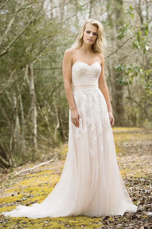 6461 Lillian West A-Line Wedding Dress- To Order