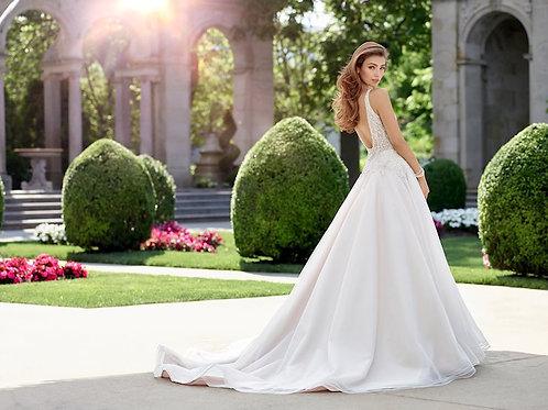 Melody 118253 Martin Thornburg A-line Wedding Dress-In Stock