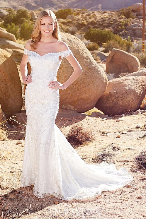 220108 Enchanting Fit & Flare Wedding Dress- To Order