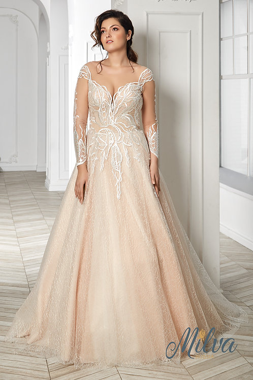 Teffy Milva A-Line Wedding Dress- To Order