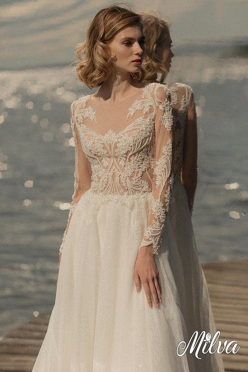 Myana Milva A-Line Wedding Dress- To Order