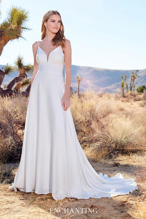 220113 Enchanting A-line Wedding Dress- To Order