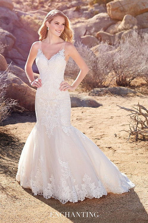 220112 Enchanting Mermaid Wedding Dress- To Order