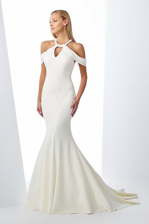 119127 Enchanting Trumpet Wedding Dress- To Order