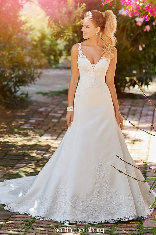 Lily 120237 Martin Thornburg A-Line Wedding Dress- To Order