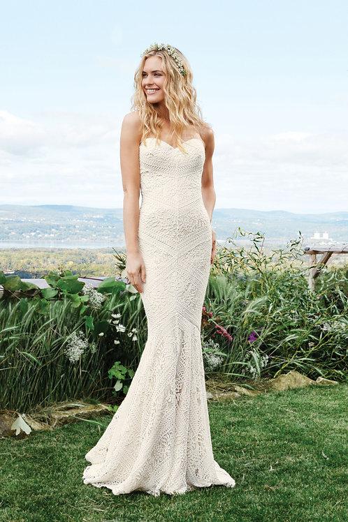 6425 Lillian West Mermaid Wedding Dress- To Order