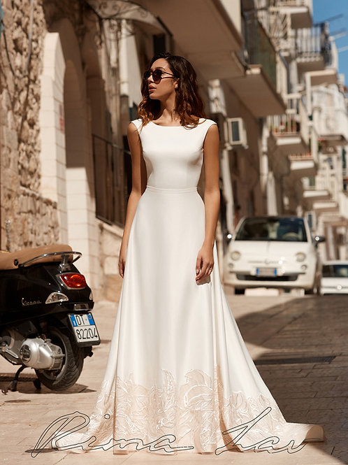 Dominga Rima Lav A-Line Wedding Dress- To Order