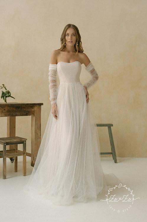 Mishka Zuzu A-Line Wedding Dress- To Order