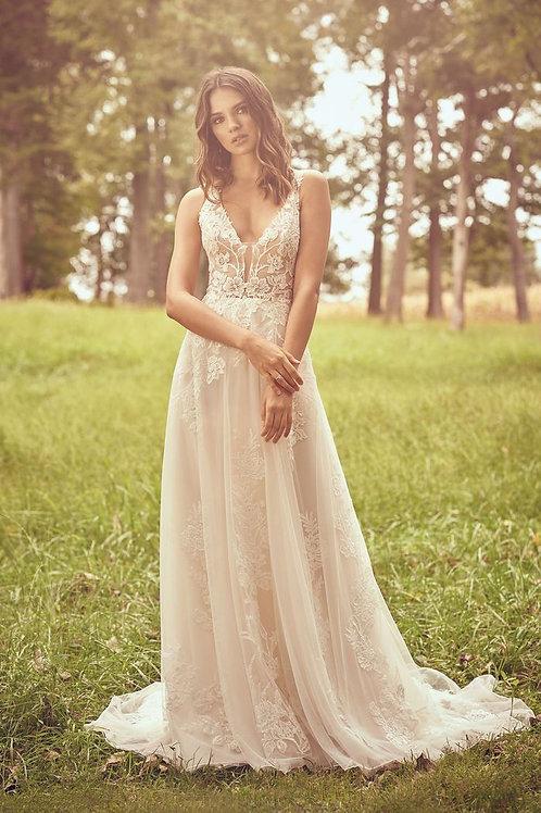 66063 Lillian West A-Line Wedding Dress- To Order