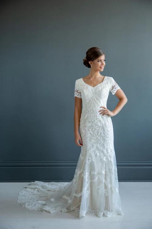Victoria MC7226 MBC by Barbie Sheath Wedding Dress- To Order