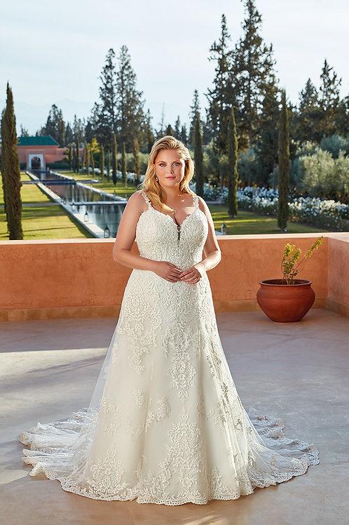 UR128 Eddy K A-Line Wedding Dress- In Stock